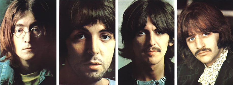 """Helter Skelter,"" one of many hit tracks from the Beatles' exalted 1968 White Album, has often been lauded as a progenitor of heavy metal. - BeatlesWhiteAlbumPortraits"