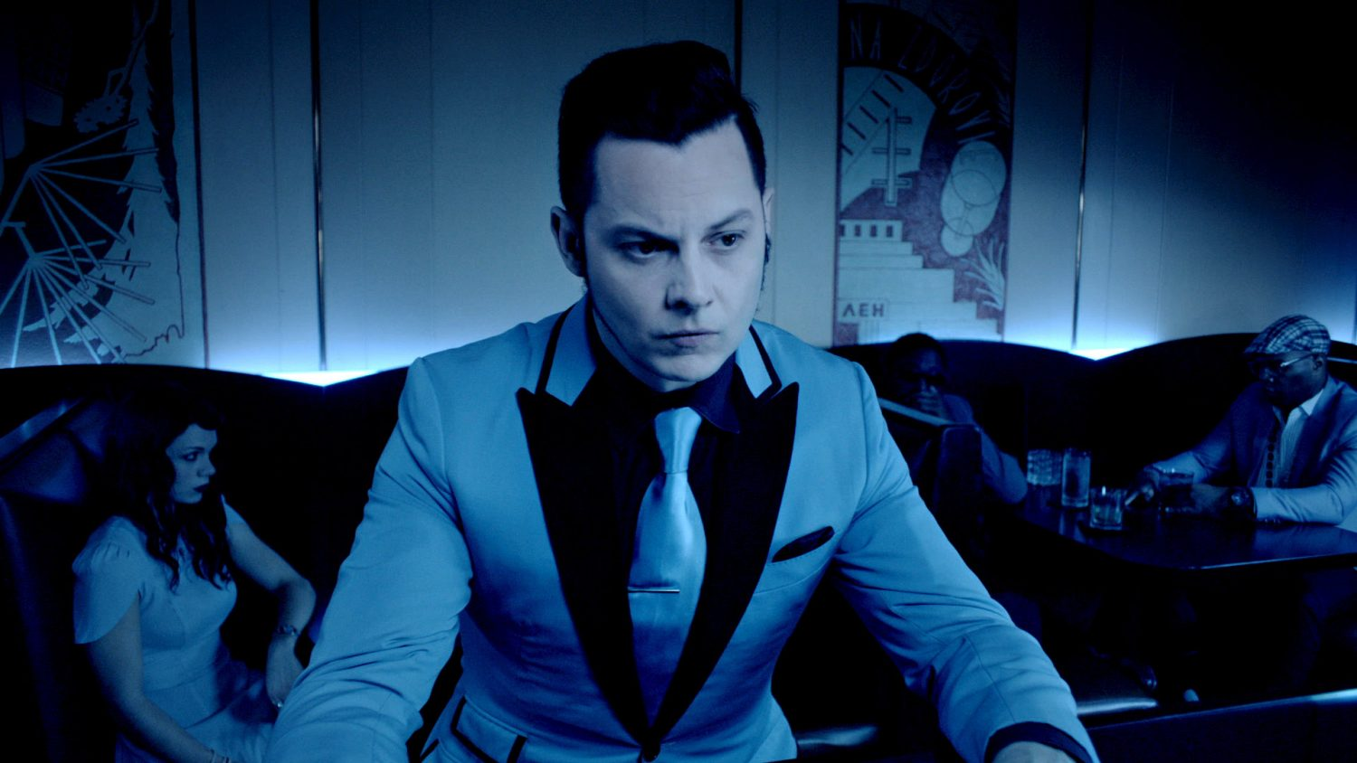 "Jack White Takes On Harry Connick Jr.'s ""Blue Light, Red Light (Someone's There)"""