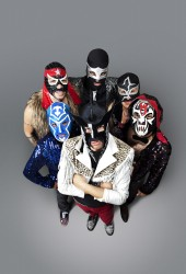 Masked Mexicans El Conjunto Nueva Ola Deliver Latin-Disco Billy Idol Cover (Premiere)
