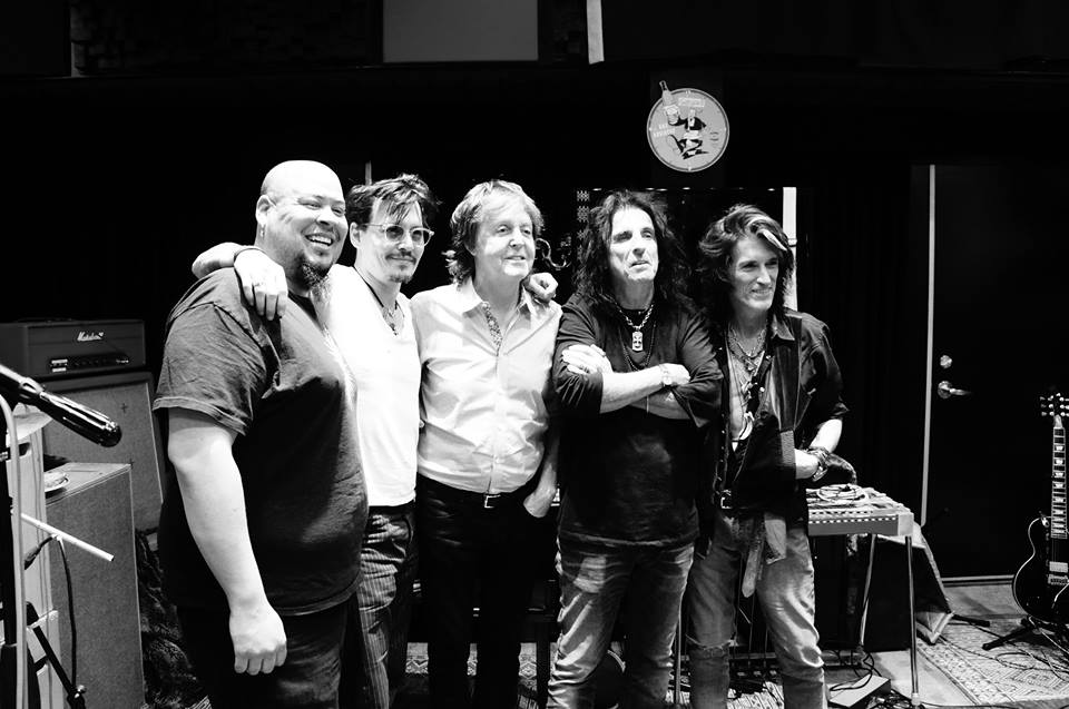 "Alice Cooper, Joe Perry, and Johnny Depp's New Supergroup Covers ""My Generation"""