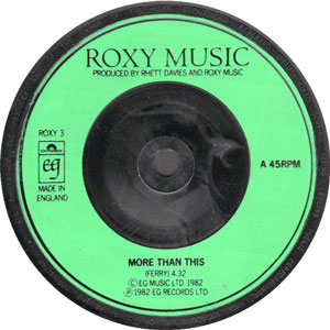 Five Good Covers: More Than This (Roxy Music)