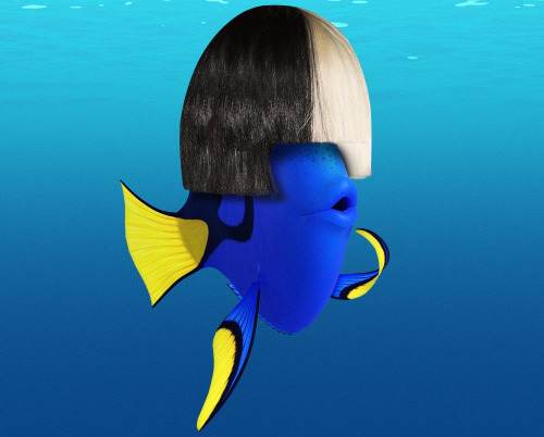 "Sia Channels Her Inner Dory To Cover Nat King Cole's ""Unforgettable"""