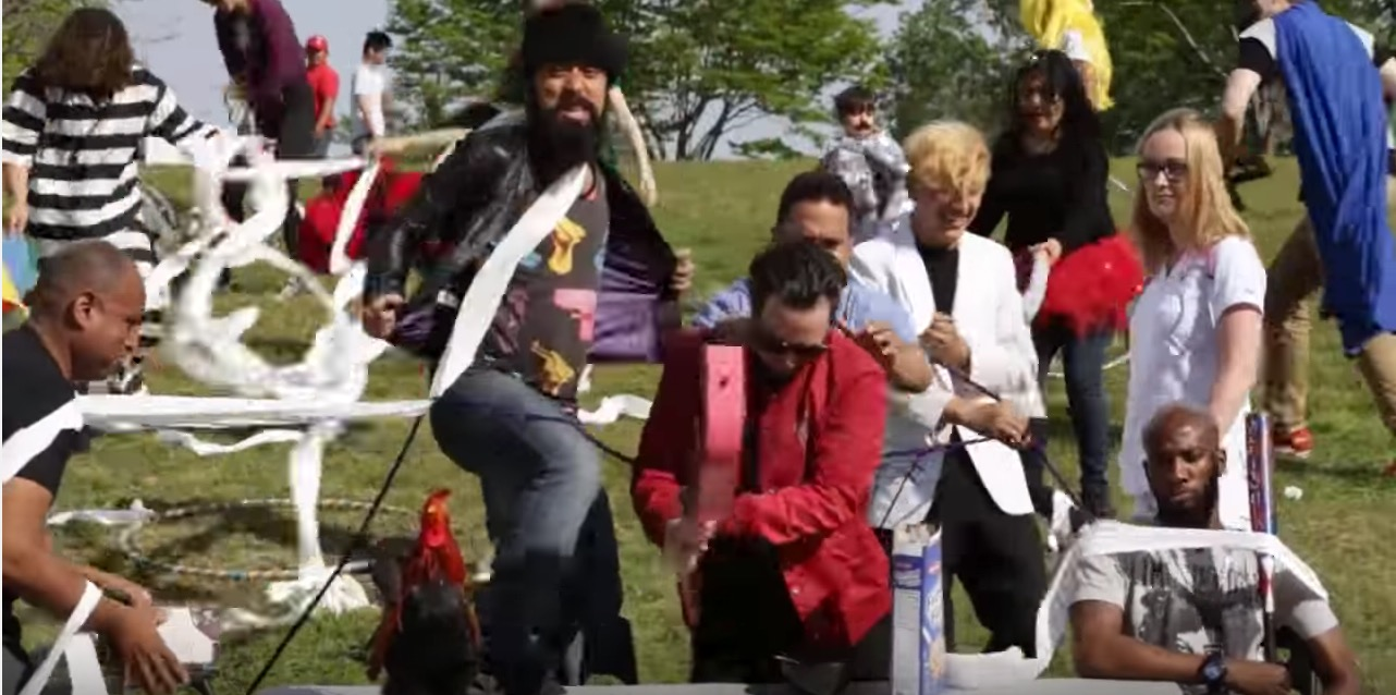 "Watch This Joyous Dominican Cover of The Ramones' ""I Wanna Be Sedated"""