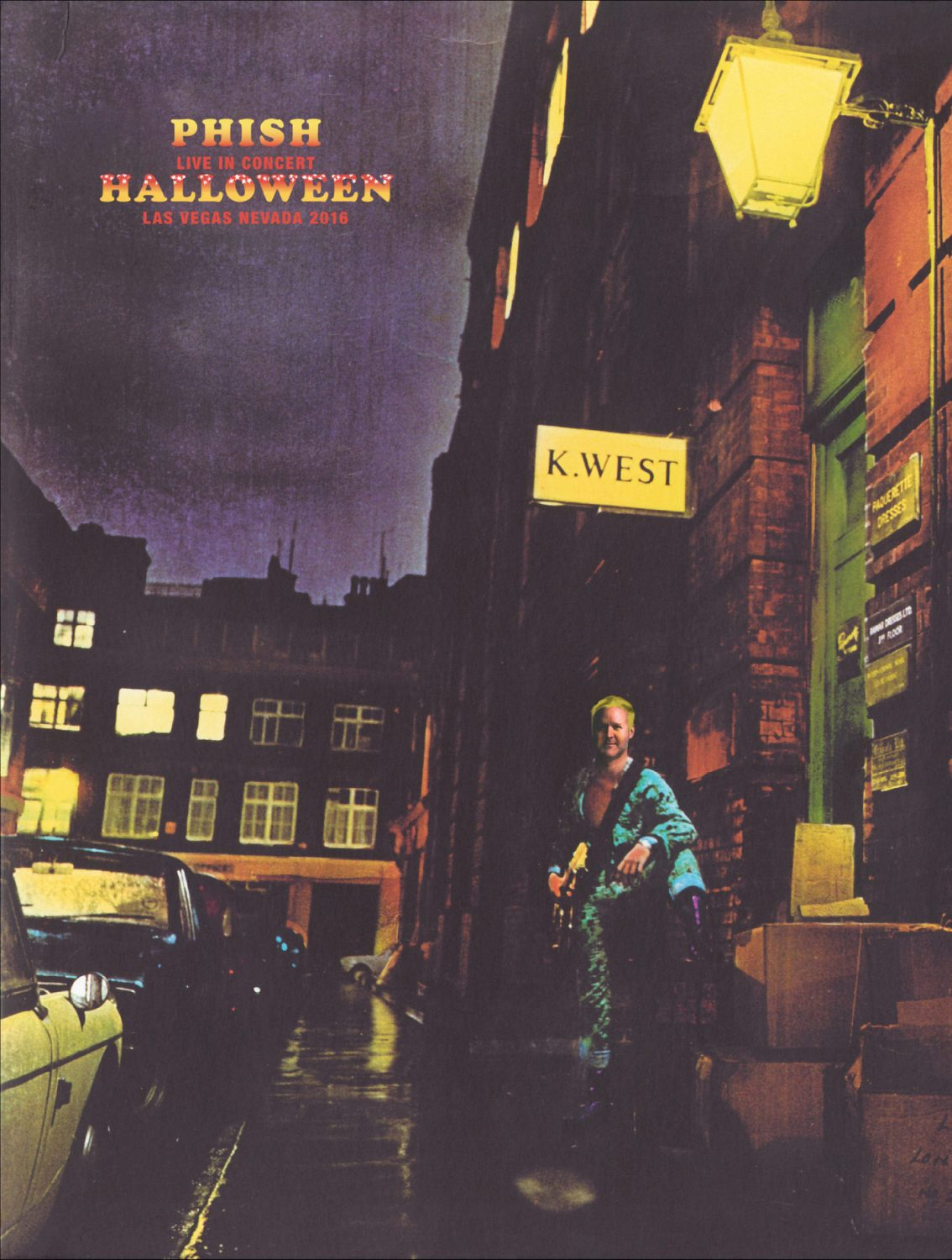 Watch Phish Cover David Bowie's Complete 'Ziggy Stardust' Album as a Halloween Surprise