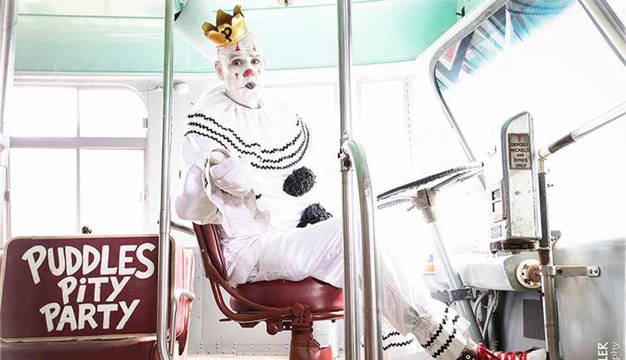 "Sad Clown Puddles Pity Party Covers Cheap Trick's ""I Want You to Want Me"""