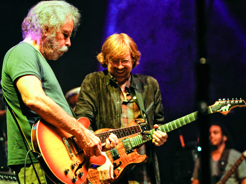 "Bob Weir and Trey Anastasio Do Beautiful Duet Cover of Lady Gaga's ""Million Reasons"""