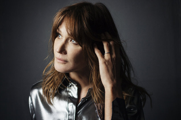 "Carla Bruni Releases Intimate Cover of Depeche Mode's ""Enjoy the Silence"""