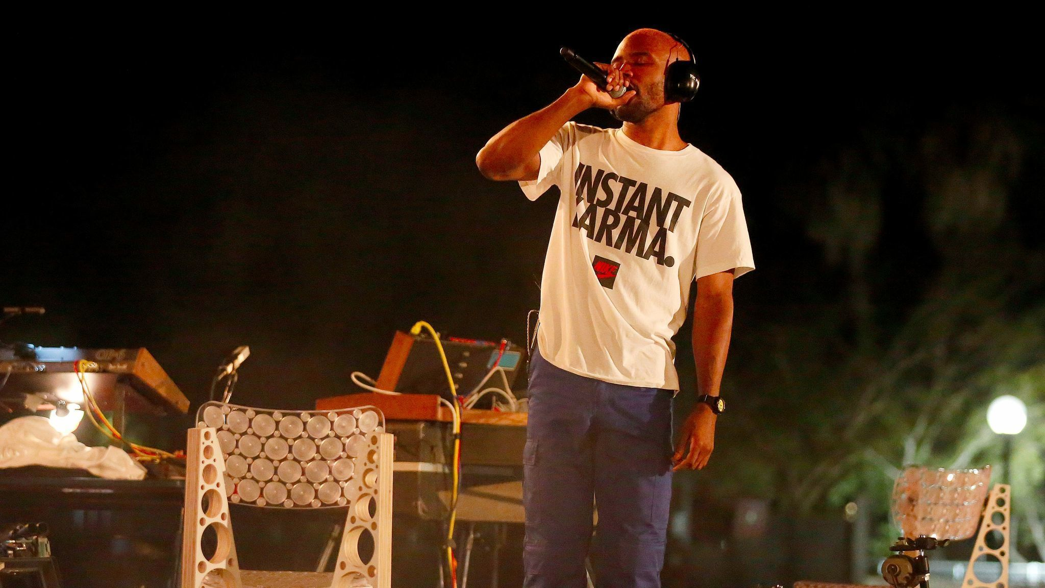 Frank Ocean Covers Nigerian Disco Song at FYF Fest