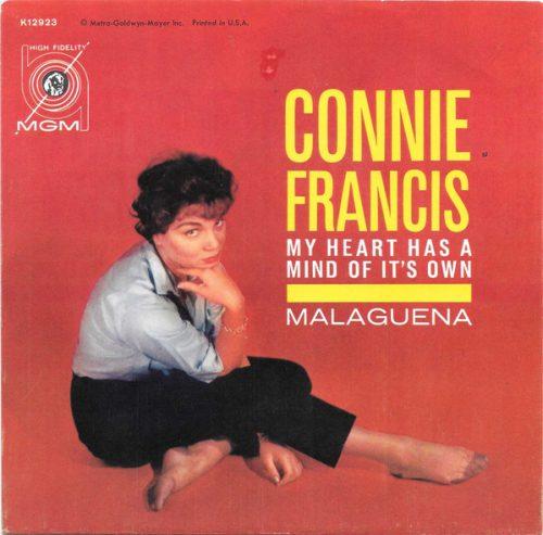 connie francis my heart has a mind