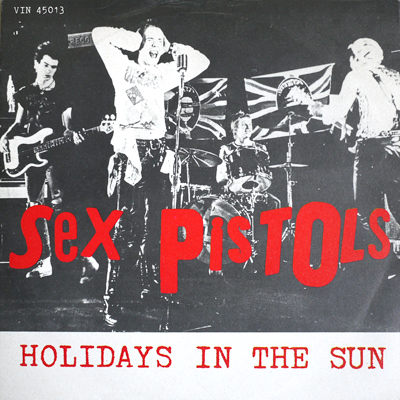 sex pistols and berlin wall