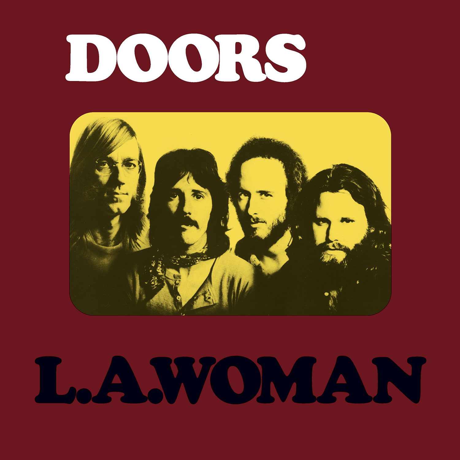 Full Albums The Doors L A Woman Cover Me