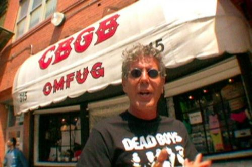 anthony bourdain music