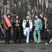 "Western Terrestrials Revive Alien-Country with ""Flying Saucers Rock 'n' Roll"" Cover"