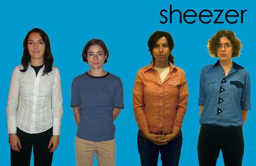 Sheezer (Blue Album)