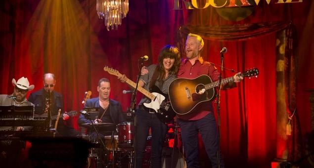 Courtney Barnett and Billy Bragg