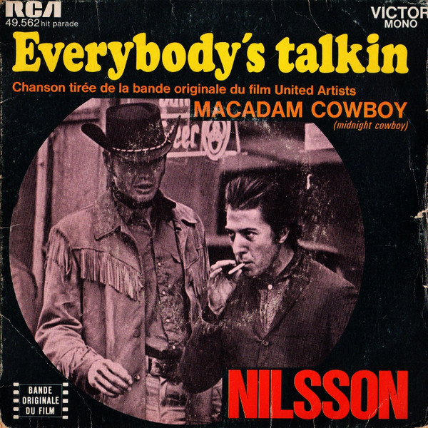 That S A Cover Everybody S Talkin Fred Neil Harry Nilsson Cover Me