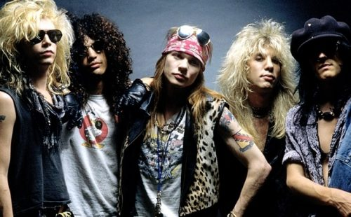 guns roses heartbreak hotel