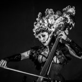 "Steampunk Cellist Unwoman Covers Bowie's ""Heroes"""