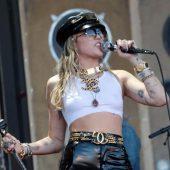 Miley Cyrus Debuts Metallica Cover During Star-Studded Glastonbury Set