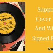 Support the Site and Win a Signed 'Cover Me' Book