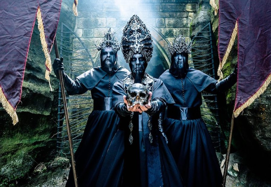 Goth Turns to Black on Behemoth's Heavy Cure Cover