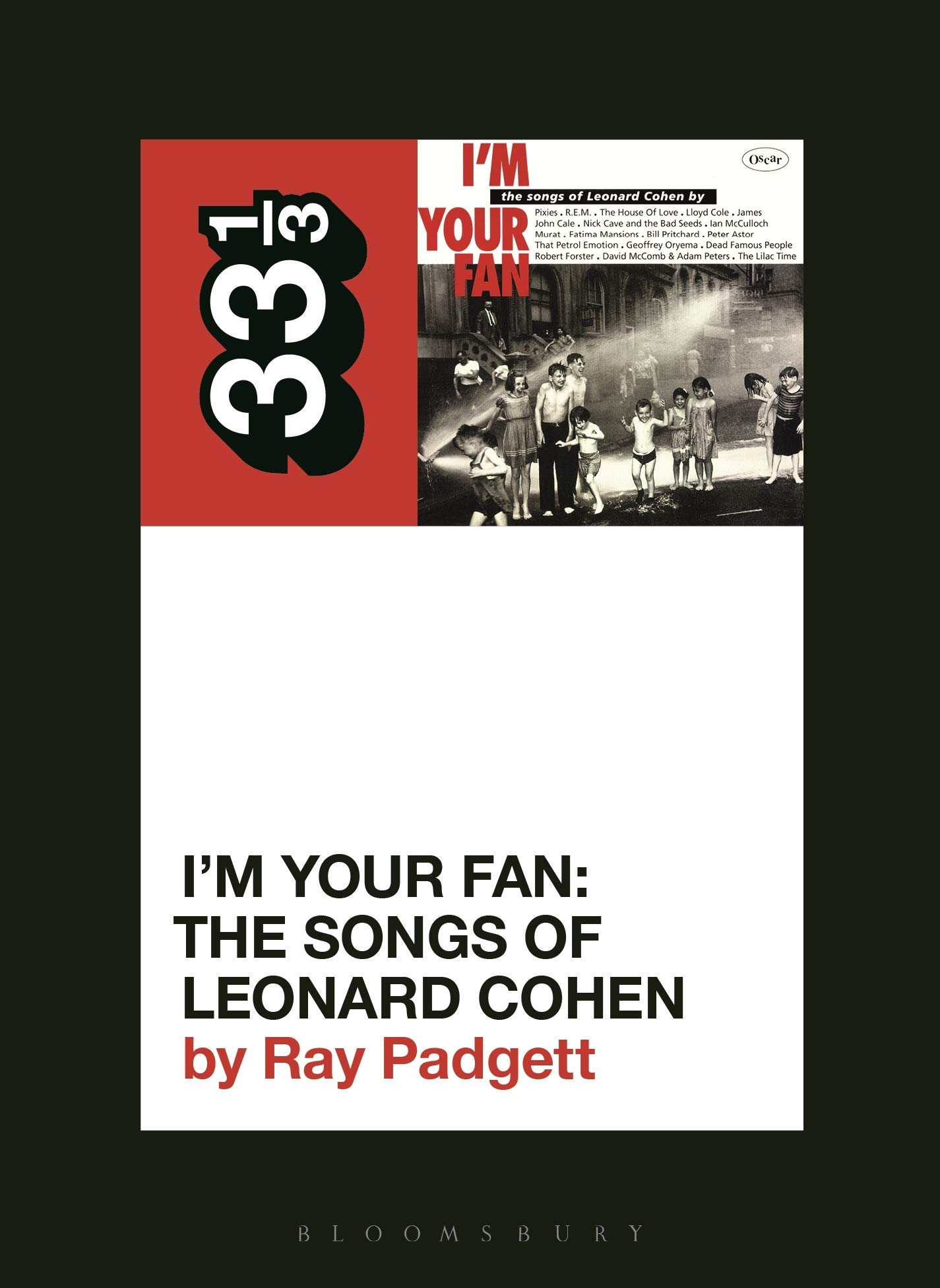 33 1/3 Book on Tribute Albums and Leonard Cohen by Cover Me's Founder