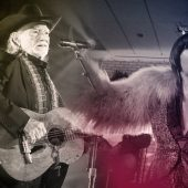 "Karen O and Willie Nelson Calm Nerves with ""Under Pressure"" Cover"