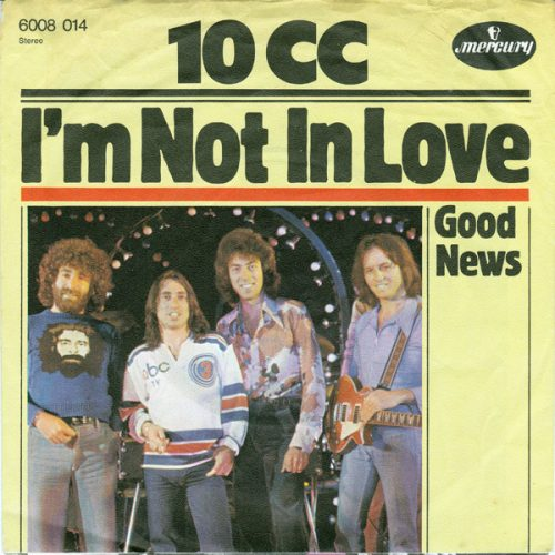 I'm Not In Love covers