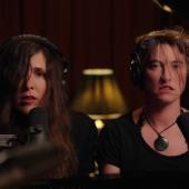 """Amanda Palmer and Reb Fountain Mash Up """"Blurred Lines"""" and """"Rape Me"""""""